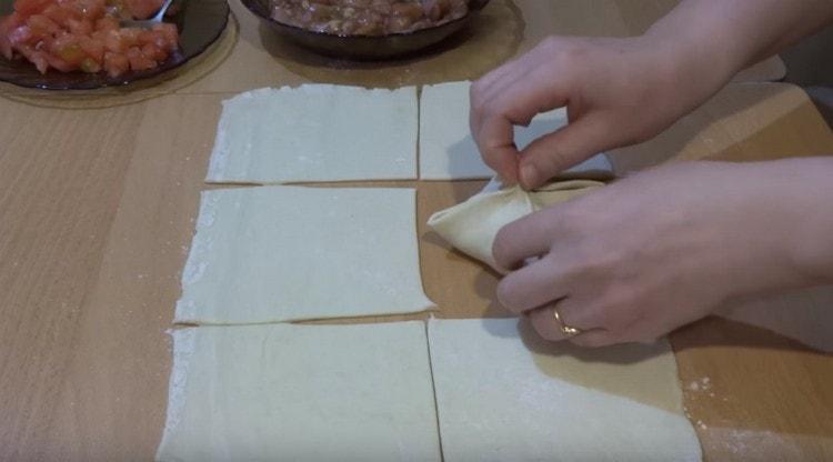 рецепт с фото конвертики с курицей