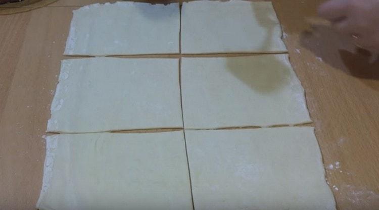 конвертики с курицей и сыром