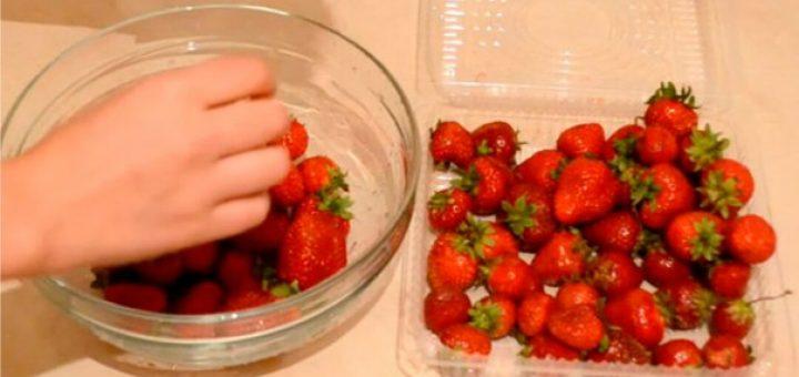 Как сохранить свежесть клубники без холодильника на зиму
