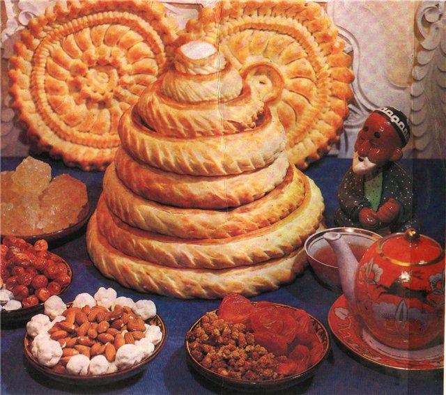 туркменская национальная кухня видео