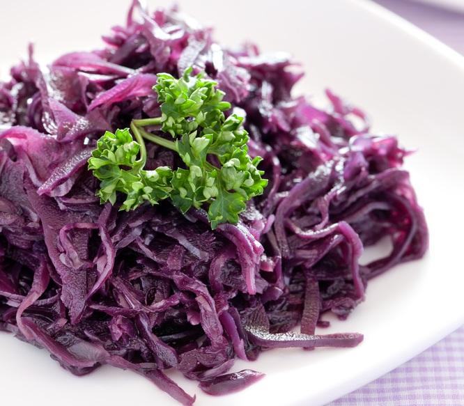 салат из капусты фиолетовой рецепт