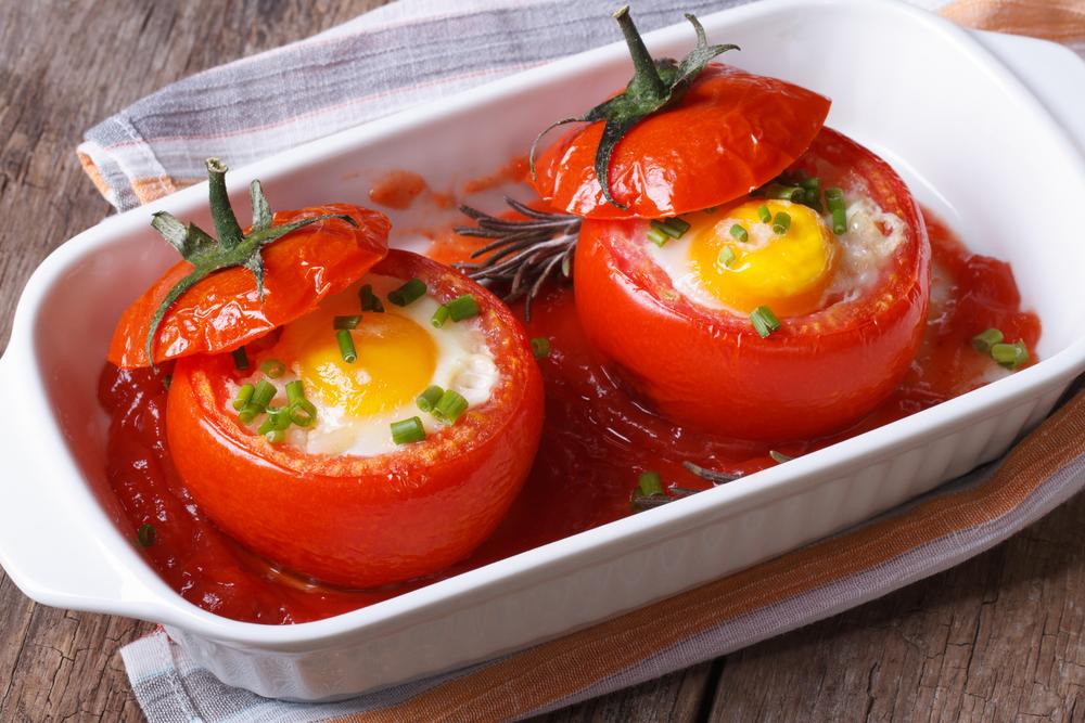 Блюда из помидоры быстро
